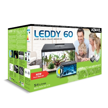 Аквариум LEDDY SET PLUS D&N 60 прямой